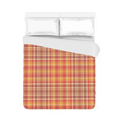 "Plaids And Tartans Duvet Cover 86""x70"" ( All-over-print)"