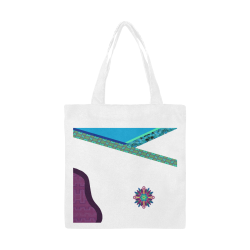 DeliAh by Vaatekaappi Canvas Tote Bag/Small (Model 1700)