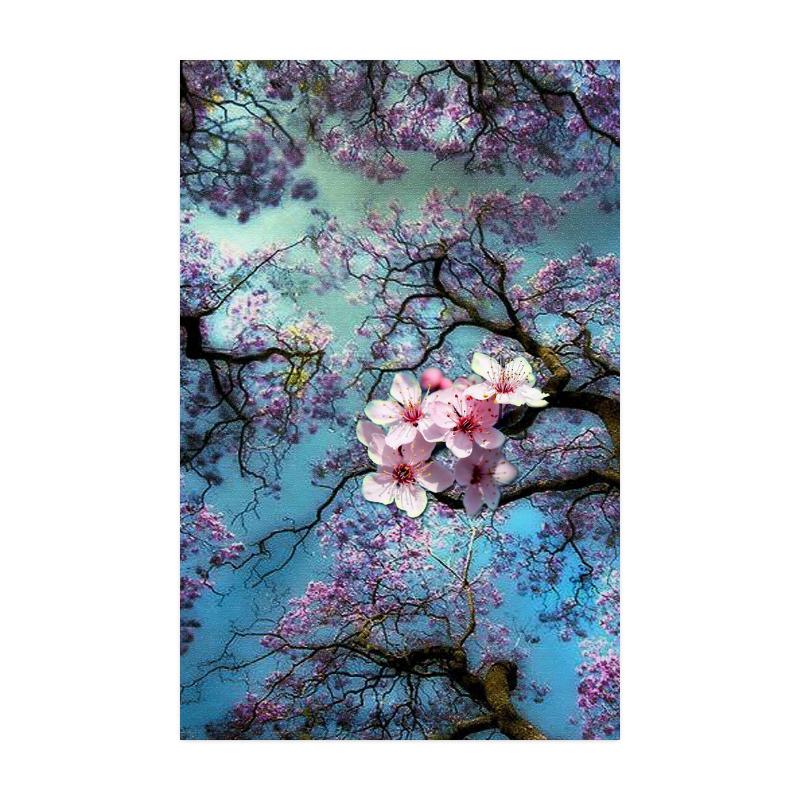 "Cherry blossomL Poster 22""x34"""