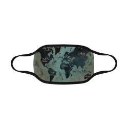 world map Mouth Mask