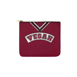 Vegan Cheerleader Carry-All Pouch 6''x5''