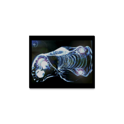 """Elephant Canvas Print 8""""x10"""""""