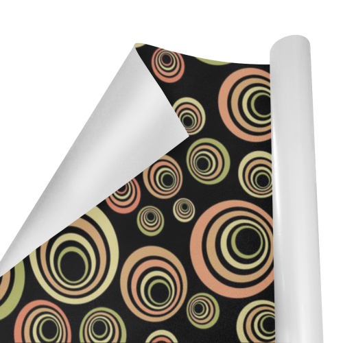 """Groovy 60's Classic Pattern Fun Retro Pop-art Gift Wrapping Paper 58""""x 23"""" (1 Roll)"""