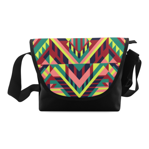 Modern Geometric Pattern Crossbody Bag (Model 1631)