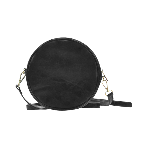 Black Cat Round Sling Bag (Model 1647)