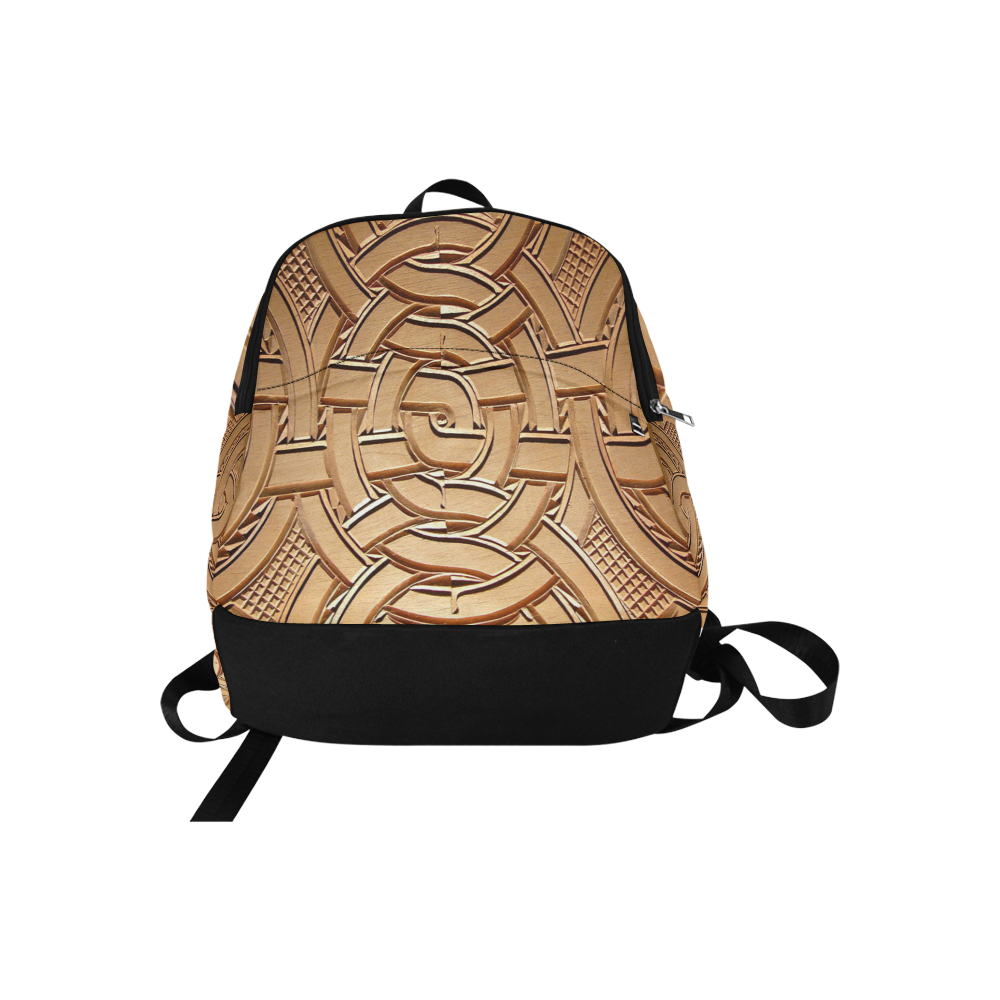 TEMBE ART WOOD Fabric Backpack for Adult (Model 1659)