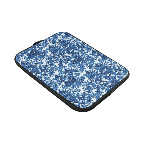 Digital Blue Camouflage Custom Sleeve for Laptop 15.6""