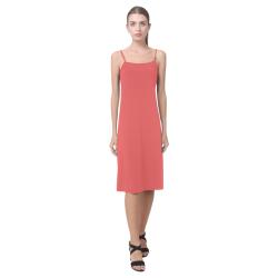 Valentine Red Alcestis Slip Dress (Model D05)