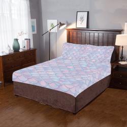 Mermaid Scales 3-Piece Bedding Set