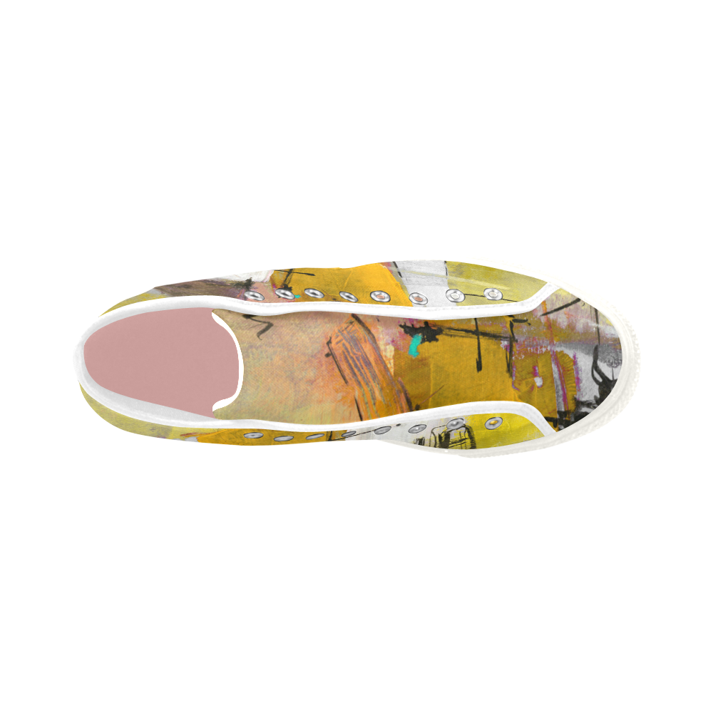 Lua yellow Vancouver H Women's Canvas Shoes (1013-1)