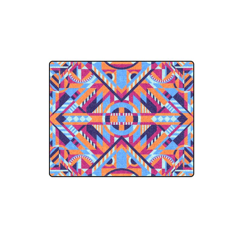 "Modern Geometric Pattern Blanket 40""x50"""