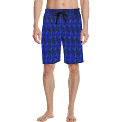 Graphic illusion Men's All Over Print Casual Shorts (Model L23)