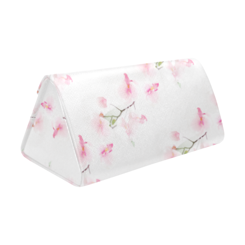 Pattern Orchidées Custom Foldable Glasses Case