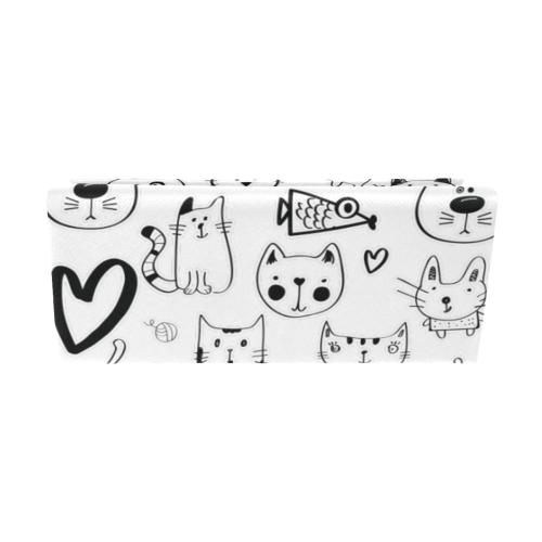 Meow Cats Custom Foldable Glasses Case