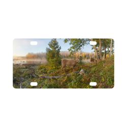 Whitetail Deer Classic License Plate