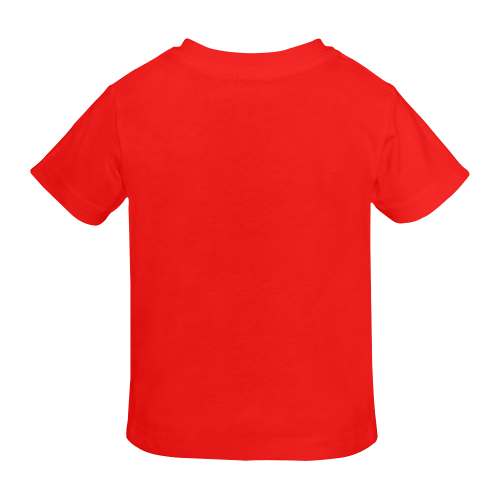 g-Golden Asian Symbol for Heart Sunny Youth T-shirt (Model T04)