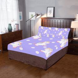 Unicorn LGBT 3-Piece Bedding Set