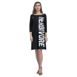 Herbivore (vegan) Rhea Loose Round Neck Dress(Model D22)