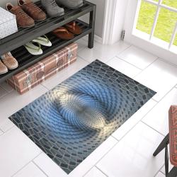 "3d illusion Azalea Doormat 30"" x 18"" (Sponge Material)"