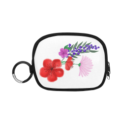 BUNCH OF FLOWERS Coin Purse (Model 1605)