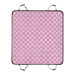Pretty Pink Flowers Pet Car Seat 55''x58''