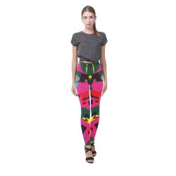 Crolorful shapes Cassandra Women's Leggings (Model L01)
