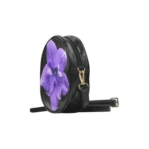 Balloon Flower Round Sling Bag (Model 1647)