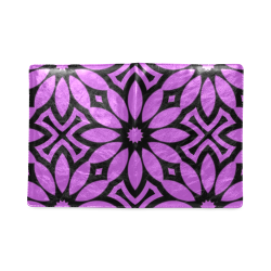 Purple/Black Flowery Pattern Custom NoteBook B5