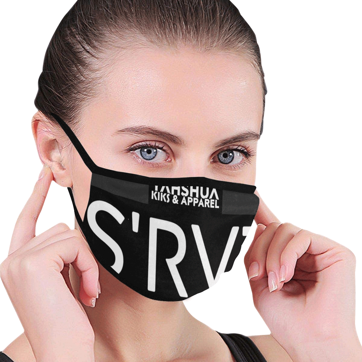 Gray 1 Mouth Mask (2 Filters Included) (Non-medical Products)