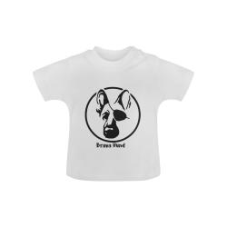Brava Pirate Hund Baby Classic T-Shirt (Model T30)