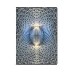 "opt illusion Blanket 58""x80"""