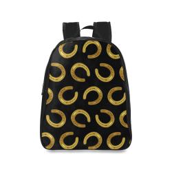 Golden horseshoe School Backpack/Large (Model 1601)