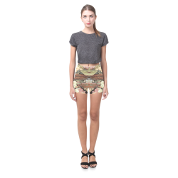 Green Mist Yuma Briseis Skinny Shorts (Model L04)