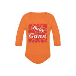 Baby Gunn Onies Baby Powder Organic Long Sleeve One Piece (Model T27)