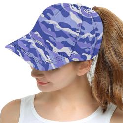 Midnight Camo AOP Dad Cap All Over Print Snapback Hat D