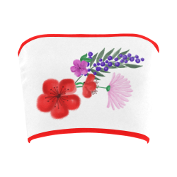BUNCH OF FLOWERS Bandeau Top