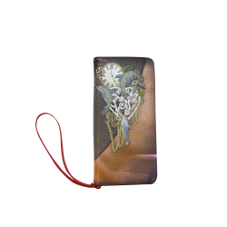 Our dimension of Time Women's Clutch Wallet (Model 1637)