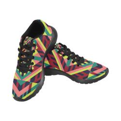 Modern Geometric Pattern Men's Running Shoes (Model 020)