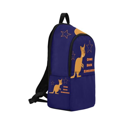 Adult pocket Come Back Kangaroo Fabric Backpack for Adult (Model 1659)