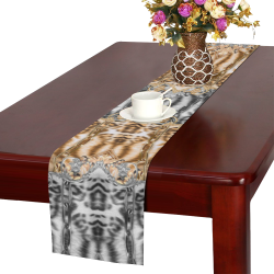 Luxury Abstract Design Table Runner 14x72 inch