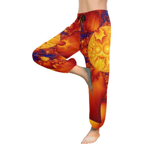 Planetary Fire Women's All Over Print Harem Pants (Model L18)