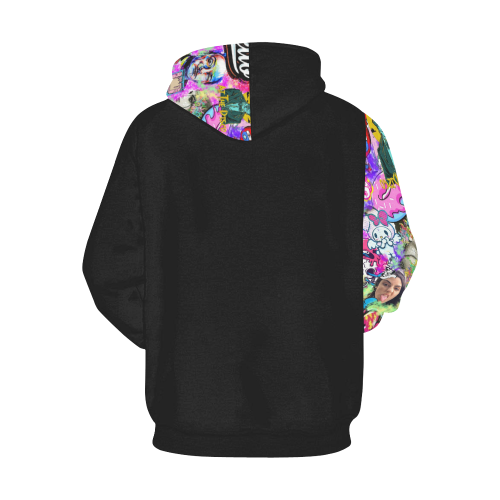 fuck the world All Over Print Hoodie for Men (USA Size) (Model H13)