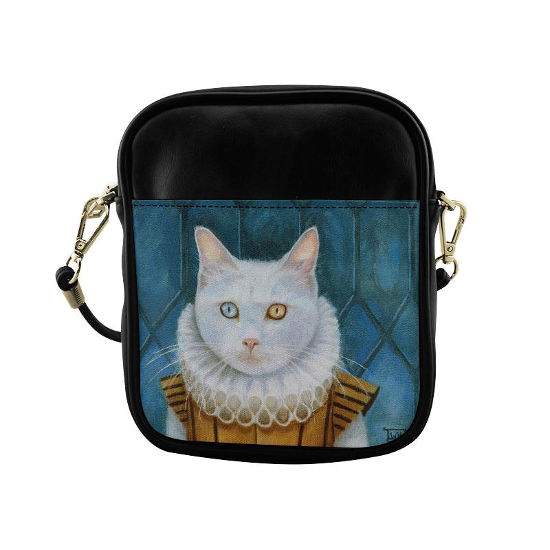 Renaissance Cat Sling Bag (Model 1627)