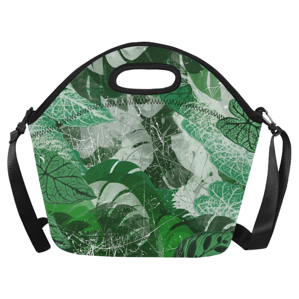 Tropicalia Neoprene Lunch Bag/Large (Model 1669)