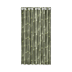 """Bamboo forest New Window Curtain 50"""" x 96""""(One Piece)"""