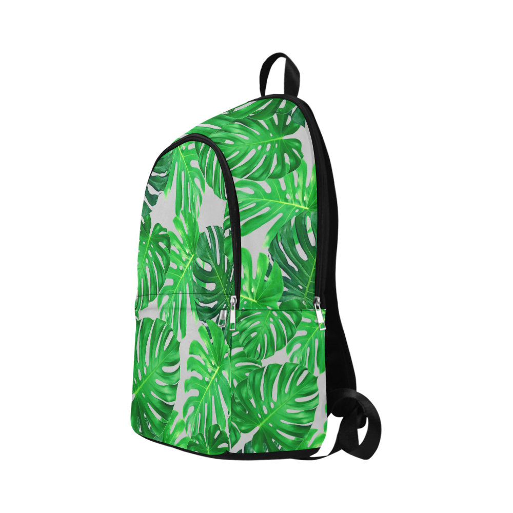 cheeseplant grn Fabric Backpack for Adult (Model 1659)