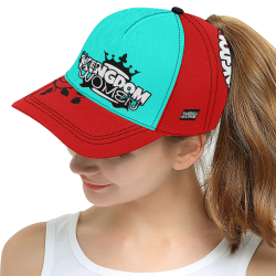 Red/Blue All Over Print Snapback Hat D