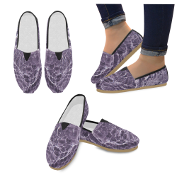 Lilac Bubbles Casual Shoes for Women (Model 004)