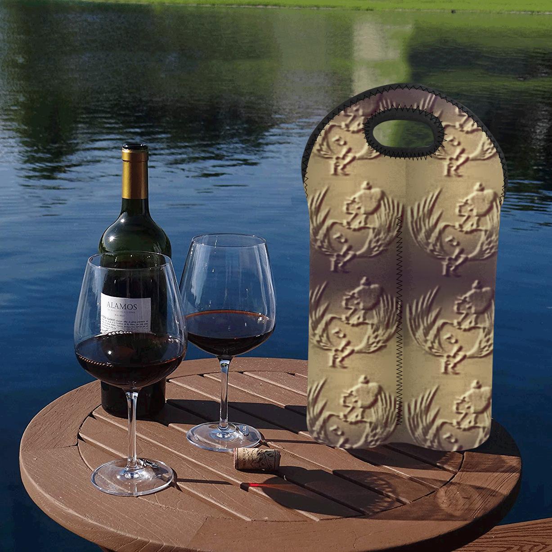 SERIPPY 2-Bottle Neoprene Wine Bag