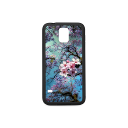 Cherry blossomL Rubber Case for Samsung Galaxy S5